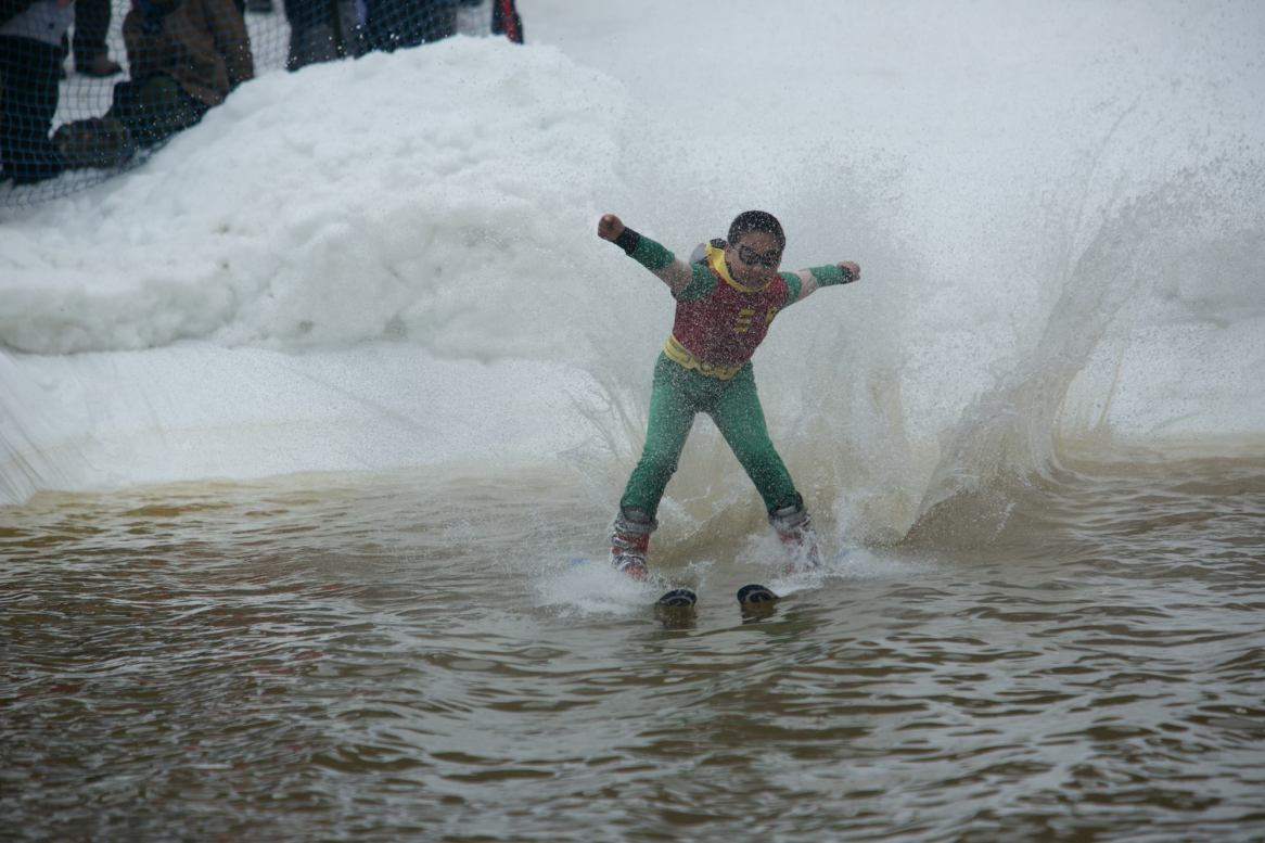 Killington pond skimming